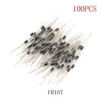 100Pcs Rectifier Diode FR107 1A 1000V DO-41 FR107 NT