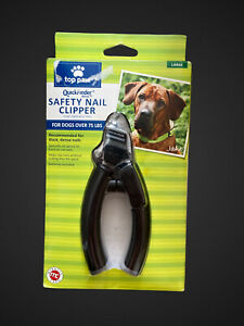 Quickfinder Deluxe Safety Nail Clipper Large Dogs By Top Paw. NEW