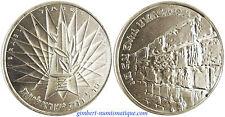 ISRAEL  , 10  LIROT  ARGENT  1967  , LA VICTOIRE ,   SUPERBE  À  FLEUR  DE  COIN