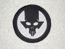 Triangle Skull  Biker Patch