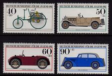 W Germany 1982 Motor Cars SG 1987 - 1990 MNH