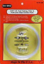 Nitro Fuel line, fuel filter & clips combo RC10GT MUGEN #DUB680