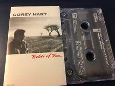 Corey Hart Fields of Fire 1986 US Cassette - I Am By Your Side