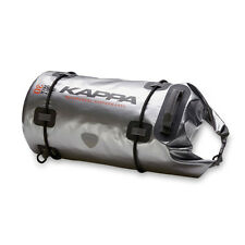 Kappa WA401S Dry Pack 30ltr 100% impermeable Rollo de bolsa de equipaje de moto Touring
