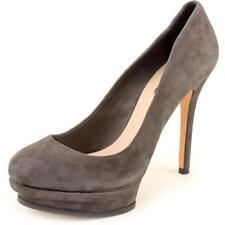 Zapatos de tacón de mujer plataformas Color principal Gris Talla 42
