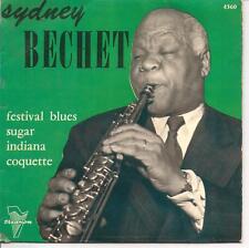 EP 4 TITRES--SIDNEY BECHET--FESTIVAL BLUES / SUGAR