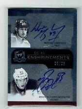 2011-12 THE CUP DUAL ENSHRINEMENTS WAYNE GRETZKY / RYAN NUGENT-HOPKINS 23/25