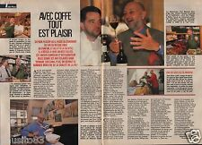 Coupure de presse Clipping 1989 Jean Pierre Coffe   (2 pages)