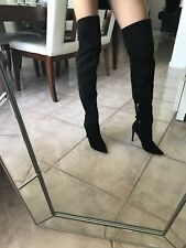 Tigh High Over The Knee Suede Boots Sz 39
