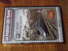 $$  DVD La Passion des Trains n°61 Le Train en vacances / Sport d'hiver Chambery