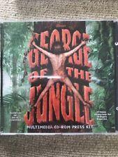 George Of The Jungle - Multimedia CD Rom Press Kit