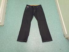 "Henley's DocketBAN0401 Jeans Waist 32"" Leg 32"" Faded Dark Blue Mens Jeans"
