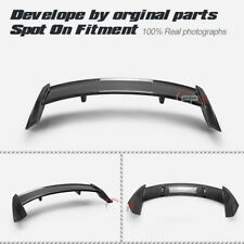 For Ford 19-20 Focus Mark 4 RS Type Carbon + FRP Unpainted Rear Spoiler Wing lip