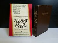 Nelson Student Study Bible - New King James Concordance Red Letter - 425BR w/box