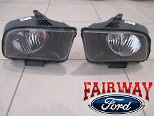 07 thru 09 Mustang GT OEM Genuine Ford Halogen Head Lamps Lights PAIR - NEW
