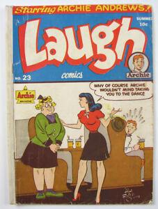 Archie Magazine Laugh Golden Age Comic Book  #23  1947