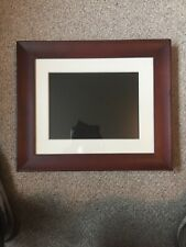 """Philips Digital Photo Frame 8"""" Wood Frame Comes With Sd Card Look 👀"""