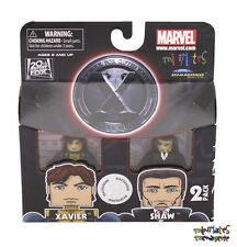 Marvel Minimates TRU Toys R Us X-Men First Class Movie Xavier & Shaw
