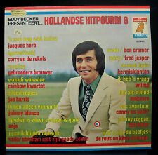 Eddy Becker  Various Hollandse Hitpourri 8 LP VG+ ELF 94.11 Y Elf 1972 Stereo