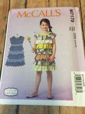 M7170 Little Girls Dress Size 2 3 4 5 New Uncut