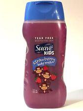 NEW 1 SUAVE KIDS STRAWBERRY BODY WASH TEAR FREE SHOWER GEL 12 OZ HYPOALLERGENIC