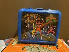 Vintage Aladdin Mighty Morphin Power Rangers Lunch Box Thermos