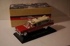 VOITURE CADILLAC MILLER - METEOR 1959 AMBULANCE COLLECTION 1/43 IXO ATLAS