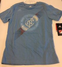 NEW YORK CITY FC Adidas Launchpad Tee Shirt Size: Youth XL