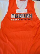 AUBURN TIGERS RUSSELL Athletics BASKETBALL Jersey NCAA Reversible XXL practice