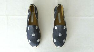 "NEW! Men's $325 Stubbs & Wootton Canvas ""HELM"" Espadrilles Loafers Shoes 45 - 13"