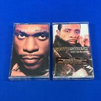 NEW Lot 2 KEITH SWEAT Cassette Tapes 90s R&B Get Up On It , Didn't See Me Coming
