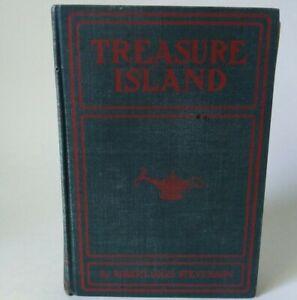 Antique Treasure Island 1906-1914 Rand McNally Greek Lamp Library Edition Good