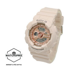 Casio Baby-G Pink Beige Special Color Model Watch BA110CP-4A