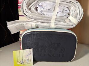 COACH Jes CROSSBODY Convertible Belt Bag COLORBLOCK F75907 BNWT BLUE/MIDNIGHT