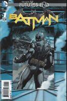 BATMAN FUTURES END #1 3D LENTICULAR COVER  Batman vs. Superman, Flash, Robin