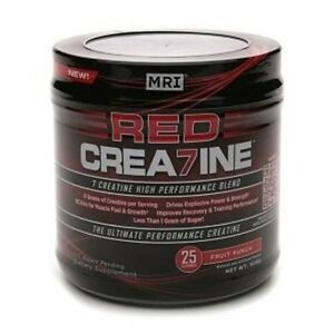 MRI Red Crea7ine - 7 TYPES OF CREATINE! - 4x500g - 100 Servings!  FREE SHIPPING!
