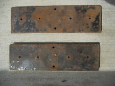 (2) Metal Plates to Mount 2 Gumball Machines