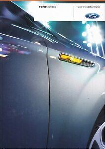 Ford Mondeo Hatch/Estate UK Brochure 2008 Edge/Zetec/Ghia/Titanium/X/Sport/TDCi