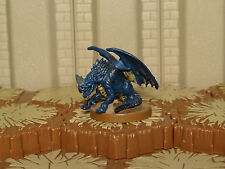 Blue Wyrmling - Heroscape - Wave 12/D2 - Warriors Eberron - Free Ship Available
