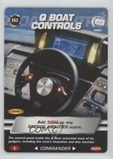 2007 007 Spy Cards: Commander #263 Q Boat Controls Gaming Card 1i3