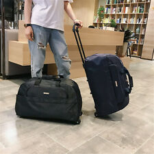 Trolley Wheeled Backpack Travel Luggage Suitcase Laptop Rucksack Bag Large