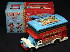 Tomica Tokyo Disneyland Christmas 2015 Omnibus Diecast Car Tomy RARE
