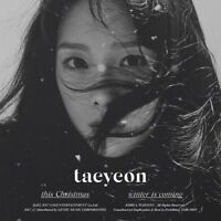 TAEYEON SNSD This Christmas Winter is Coming  CD+ Photocard+Poster+Free Gift