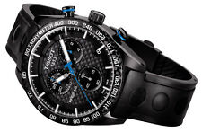 SALE New! Tissot PRS 516 Quartz Chronograph Men's Leather Watch T1004173720100