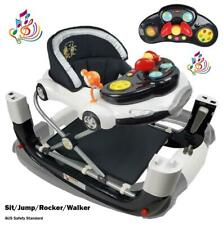 2in1 Car Baby Walker Rocker with Stoppers and Music Toys Play Centre AU Standard