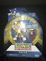 "Sonic The Hedgehog TAILS with Fast Shoe Item Box 4"" Wave 5 Jakks Figure NEW"