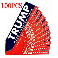 100PCS Donald Trump For President 2020 Bumper Sticker Keep Make America Great KY