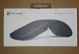 New Microsoft Surface Arc Touch Mouse Black FHD-00016 Free Shipping!