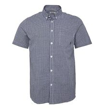 Mens Onfire Casual Cotton Stylish Short Sleeve Checked Shirt Sizes from S to XXL