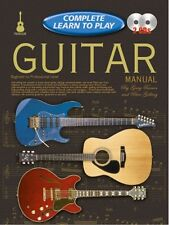 COMPLETE LEARN TO PLAY Guitar Manual + CDs*